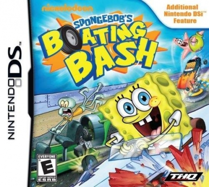 SpongeBob's Boating Bash - Nintendo DS (NDS) rom download